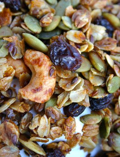 Orange-Spiced Granola