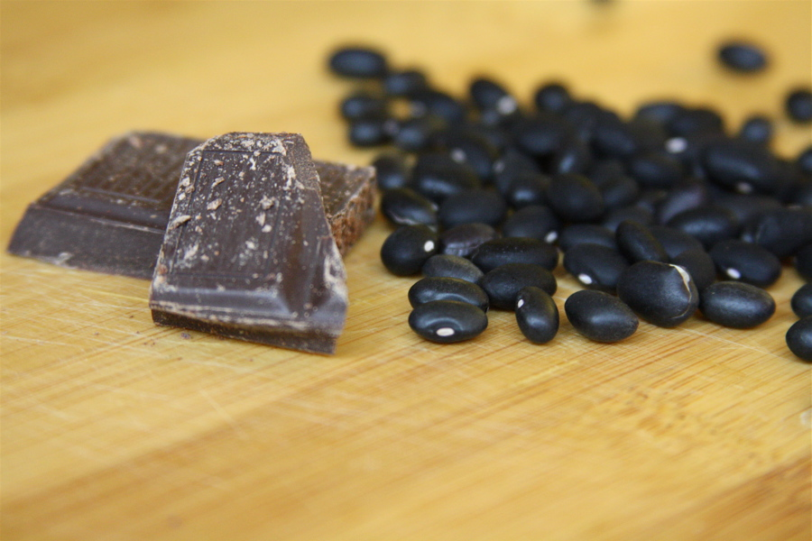 Dark Black Beans