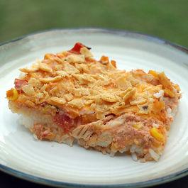 Phili Santa Fe Chicken Casserole