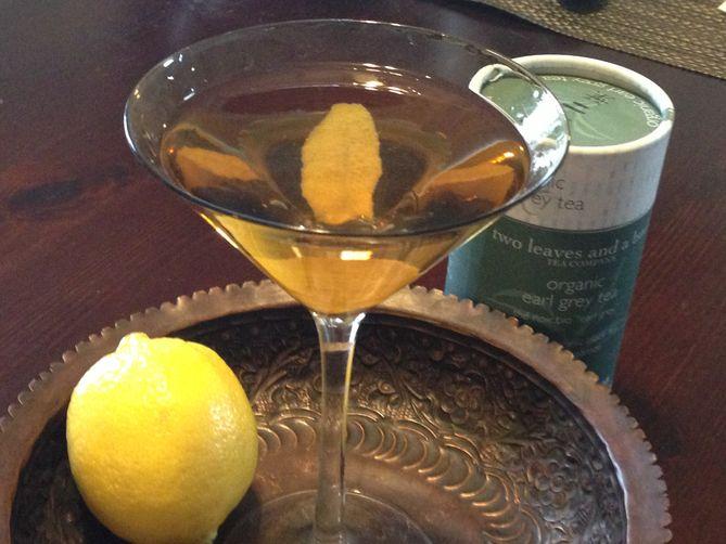 Earl Grey Vodkatini