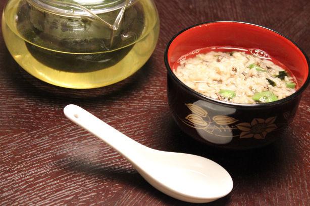 Chestnut Wild Rice in Green Tea