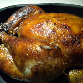 Lemon Tea Brined Slow Roasted Chicken