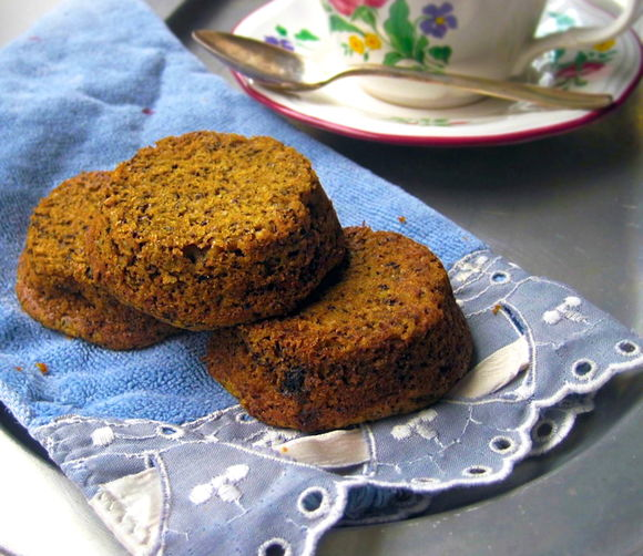 Pumpkin Earl Grey Tea Cakes