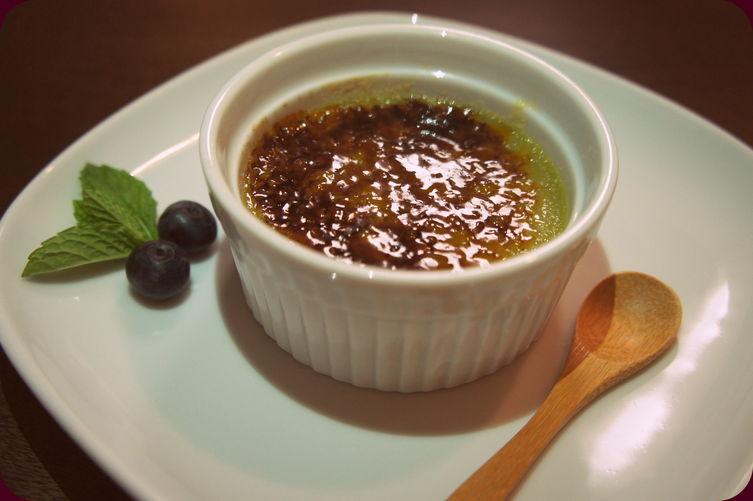 Matcha Green Tea Crème Brûlée
