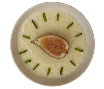 Shir Berenj - Persian Rice Pudding