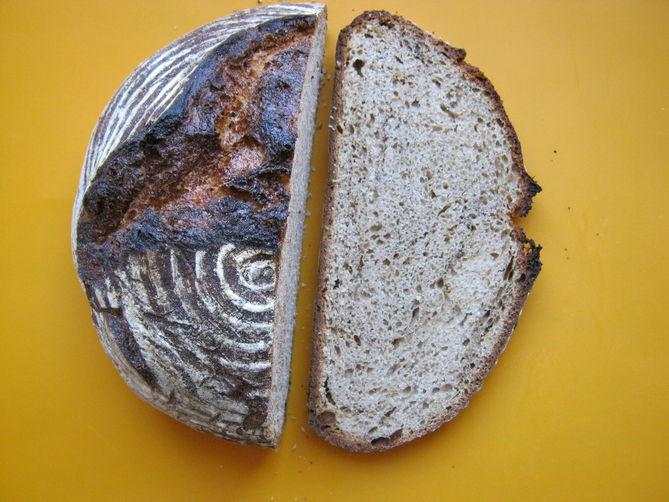 Bengali Spice Tea Infused Artisian Bread