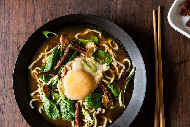 Bacon & Egg Ramen from Food52