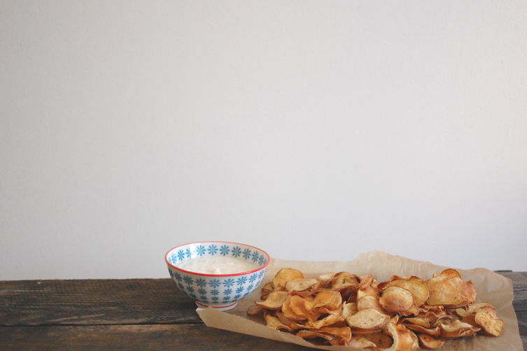 Baked Potato Chips on Food52