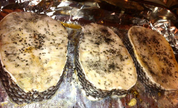 Sea Bass With Roasted Asparagus