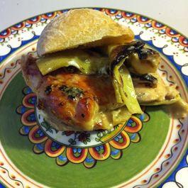 Chicken Artichoke Sliders