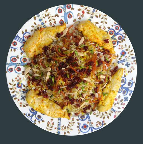 Shirin Polo - Persian Sweet Rice