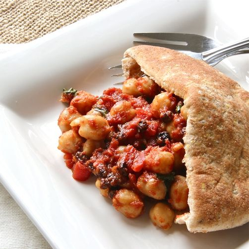 Moroccan Chickpea Pockets