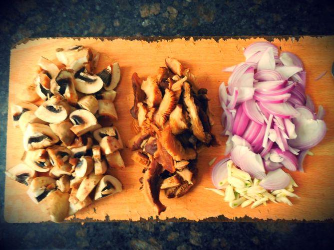 Intense Mushroom Fusilli