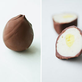 Homemade Creme Eggs