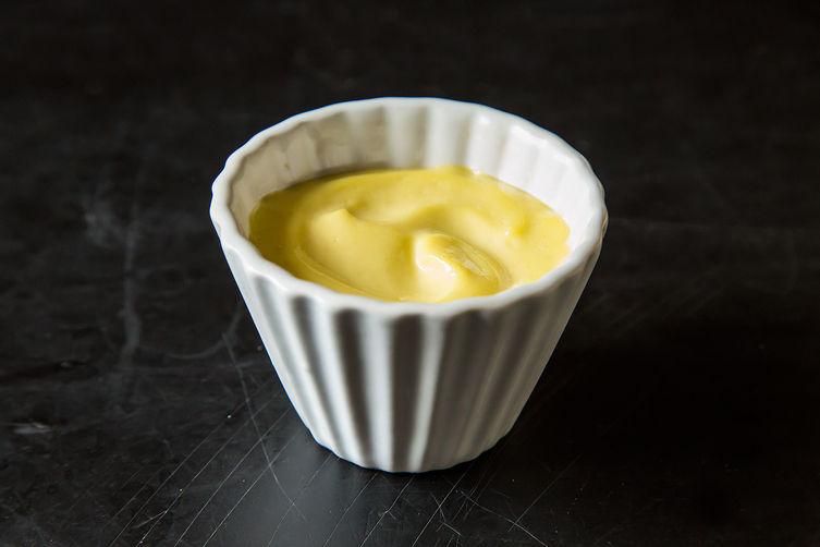 Meyer lemon custard