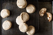 Citrus-Thyme Macaroons