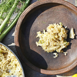 Cabbage and Fennel Indian Style Slaw