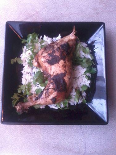 Roasted Canela Cilantro Chicken