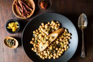 Lablabi (Middle Eastern Spicy Chickpea Stew)