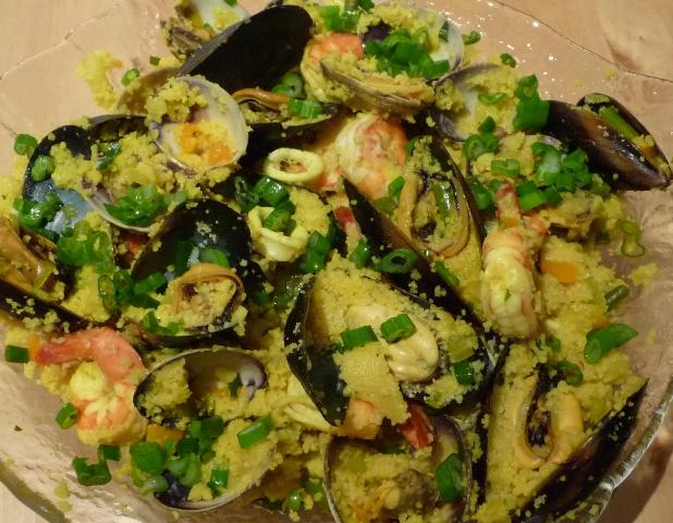 Easy Couscous Paella