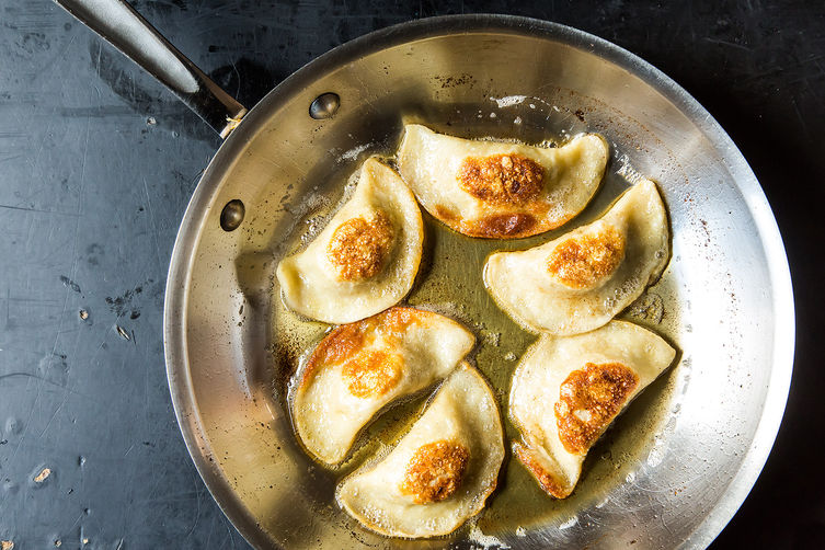 Potato, Mushroom & Caramelized Onion Pierogi