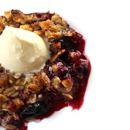 Brown Butter Berry Crisp