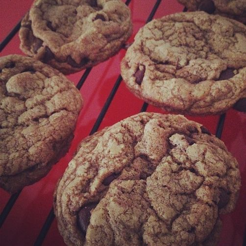 Pig-Kissed Chocolate Chip Cookies