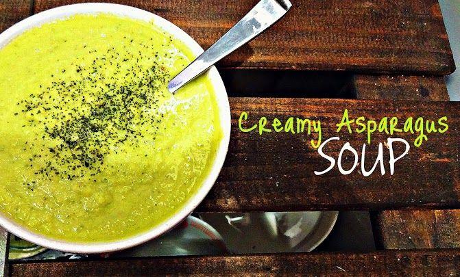 Vegan Creamy Asparagus Soup