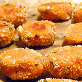 Mashed Sweet Potato Tots
