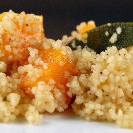 Butternut Squash, Browned Butter and Sage Couscous
