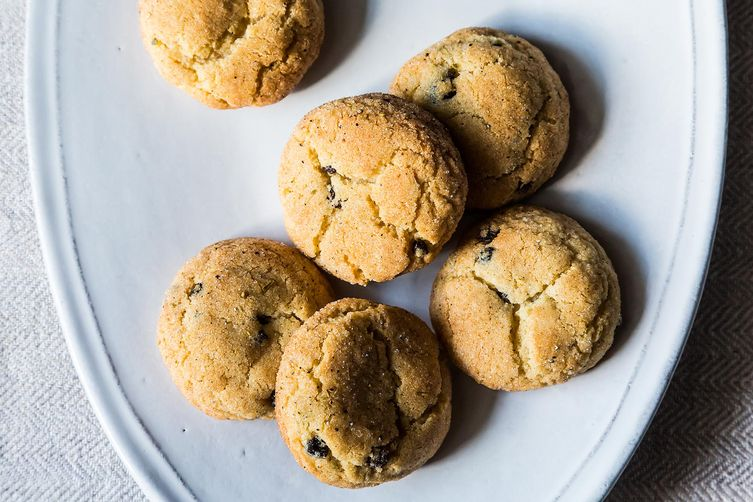 Cardamom Currant Snickerdoodles