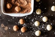 White Chocolate Fennel Truffles