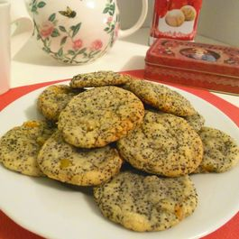 Lemon and Poppy seed Cookies