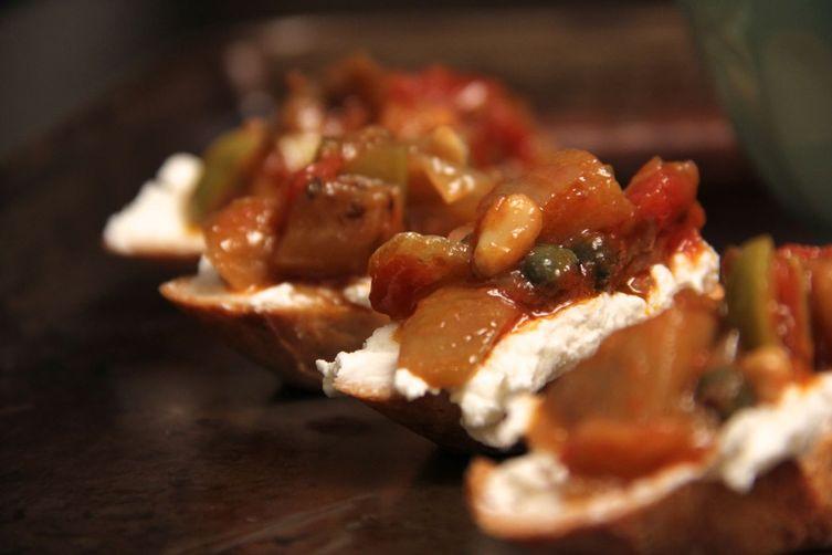 Silky Sweet & Sour Eggplant Caponata Recipe on Food52