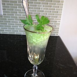 Iranian/Persian Sekahnjebin (Vinegar-Mint Summer Drink)
