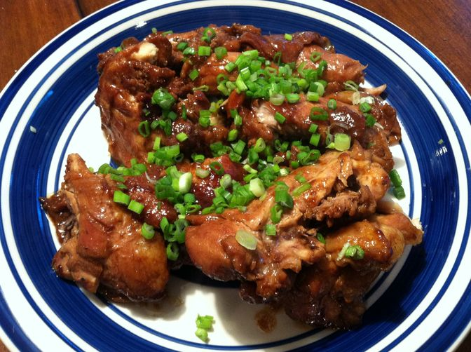Asian (Soy and Citrus) Glazed Chicken Thighs