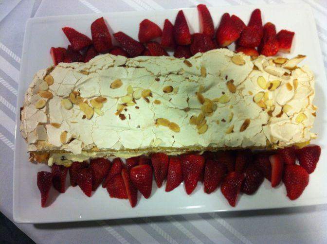 My version of Norway's World's Best Cake