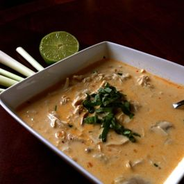 Thai Coconut Curry Soup