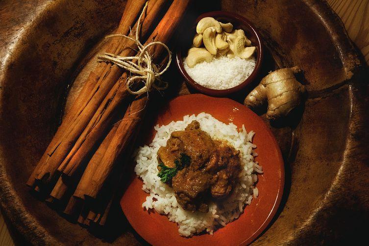 Ceylonese Cashew Coconut Chicken