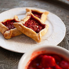 Strawberry Sauce Tartlets