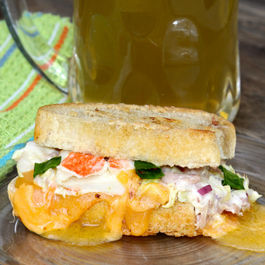 Cheesy Crab & Hammy Sammy