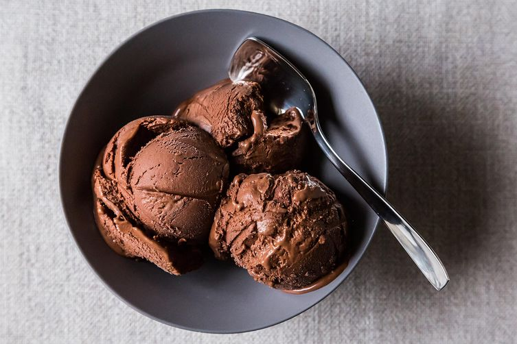 Naked Chocolate Ice Cream for Lovers