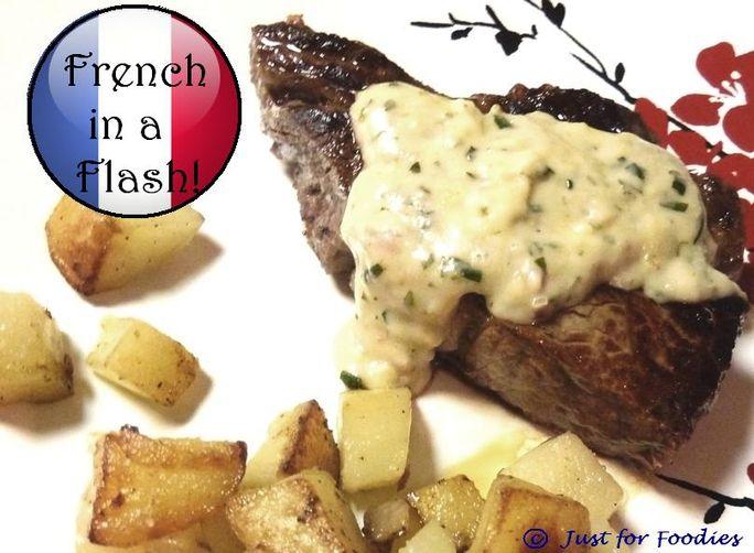 Quick & Light Béarnaise Steak Sauce