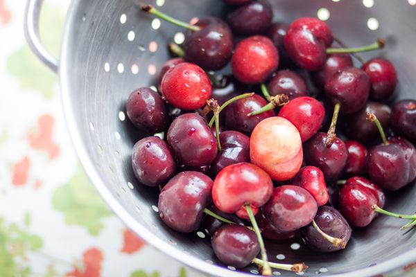 Cherry Berry Cardamom Ice Pops