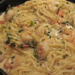 Spicy Herbed Seafood Pasta