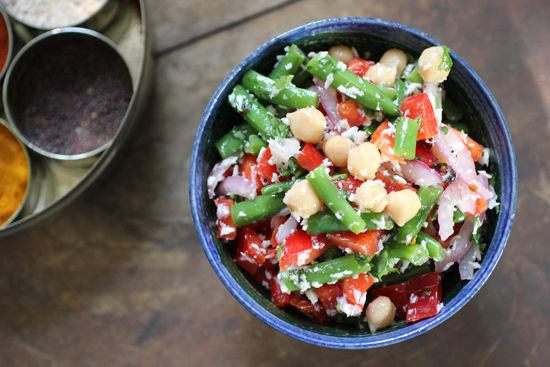 Chickpea & Coconut Salad