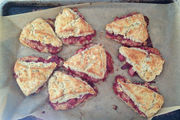 Finished-scones