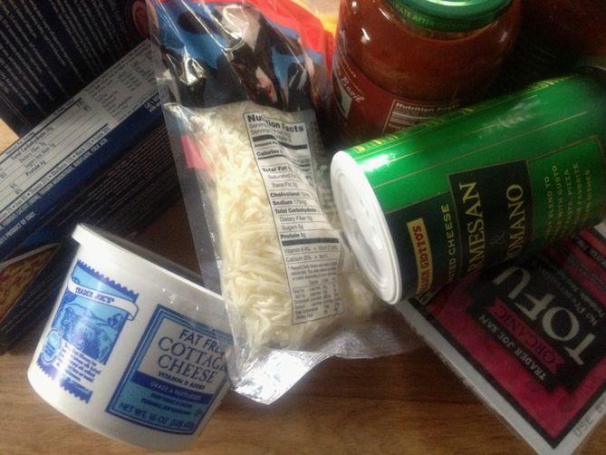 Sneaky Basic  Lasagna