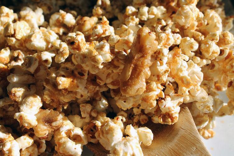 Muhammara Popcorn Crunch