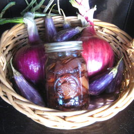 Balsamic Pickled Eggplant